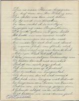 Gedicht 10 jarig bestaan 'Een in Streven' blz. 3