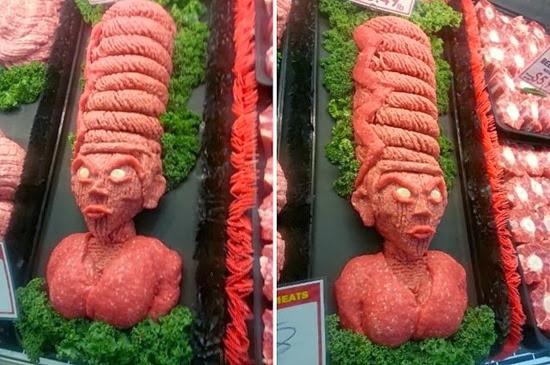 Esculturas de carne Halloween 04