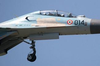 Су-30МК-1/K, ранее пролетел ВВС Индии [ВВС]