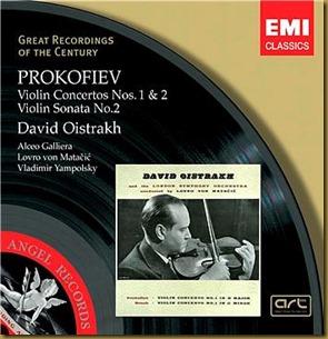 Prokofiev concierto violin 1 Oistrakh Matacic