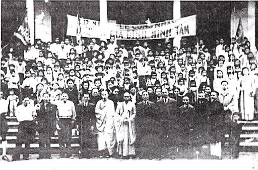 Lễ công nh�n GĐPT Minh Tâm (chùa Quán Sứ) 1952