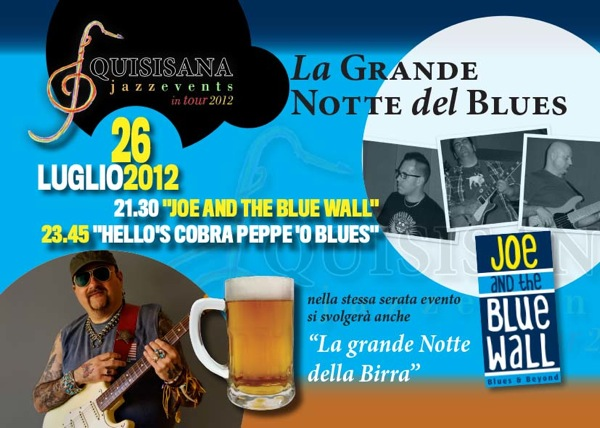 Flyer A5 notteBlues