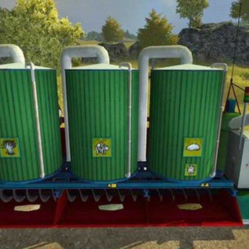 Farming simulator 2015 - Mixing station v 3.0.0