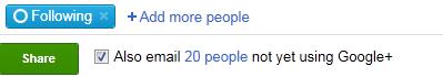 Pinging Google+