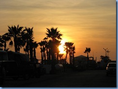 6406 Texas, South Padre Island - KOA Kampground - sunset from our camp site