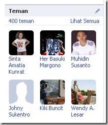 facebook 400 teman
