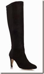 Miss KG Black Suedette Boot