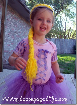  diy Rapunzel halloween costume