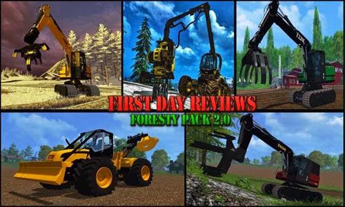 Farming simulator 2015 - Forestry set v 2.0