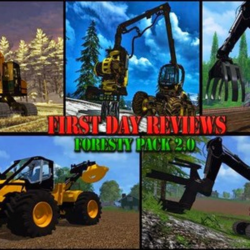 Farming simulator 2015 - Forestry set v 2.0