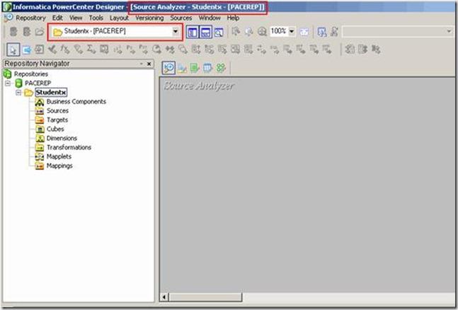 Informatica Mappping Designer