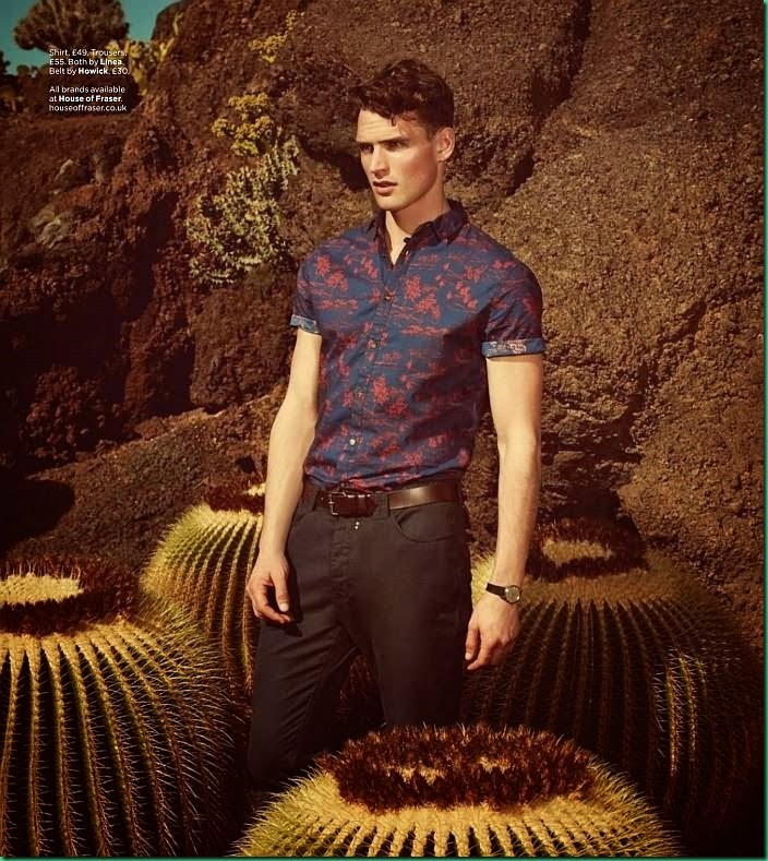 Guy Robinson for GQ Uk April 2014