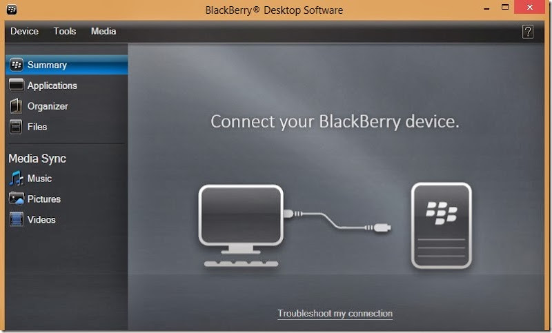 blackberry pc suite