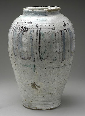 Jar | Origin: Egypt | Period: 1000-1250 | Collection: The Madina Collection of Islamic Art, gift of Camilla Chandler Frost (M.2002.1.79) | Type: Ceramic; Vessel, Earthenware, glazed and stain-painted, 13 1/2 x 9 1/4 in. (34.29 x 23.49 cm)