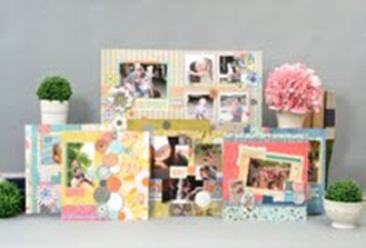 SEI designer scrapbook pages