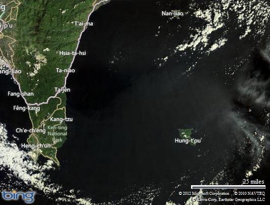 蘭嶼的位置圖