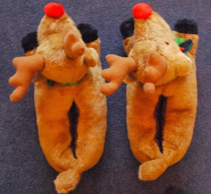 Tasteful Reindeer Slippers