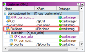 XML target definition in Informatica PowerCenter