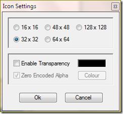 ตั้งค่า icon ใน freeware