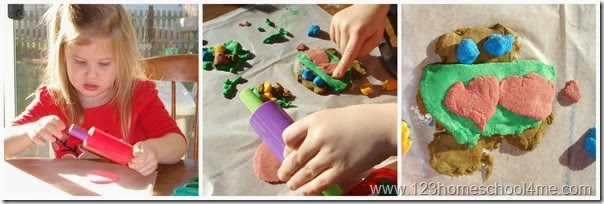 Christmas Craft for Kids - making Ornaments