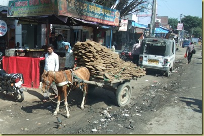Horse and Dung Cart