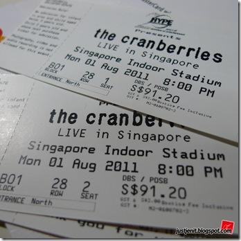 The Cranberries Tour 2011 Singapore_08