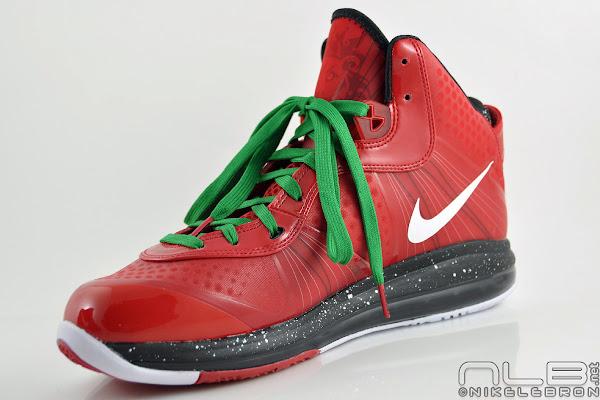 The Showcase Nike Air Max LeBron 8 V2 Christmas Exclusive