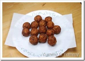 Fried Vegetable Balls
