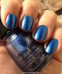 China Glaze Blue Bells Ring 5
