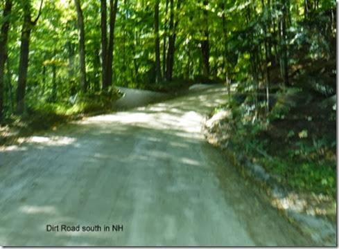 Dirt Road south in NH