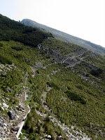 Prvi pogled na Veliki vrh Begunjščice