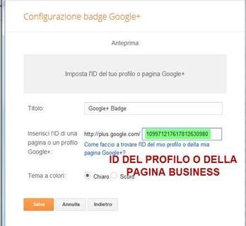 badge-google-plus-configurazione