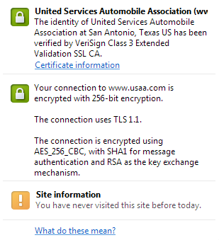 USAA TLS