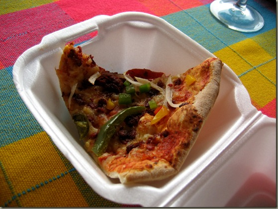 Pizza Mexicana to go