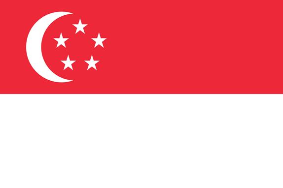 bendera Singapura