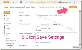 image Click Save settings