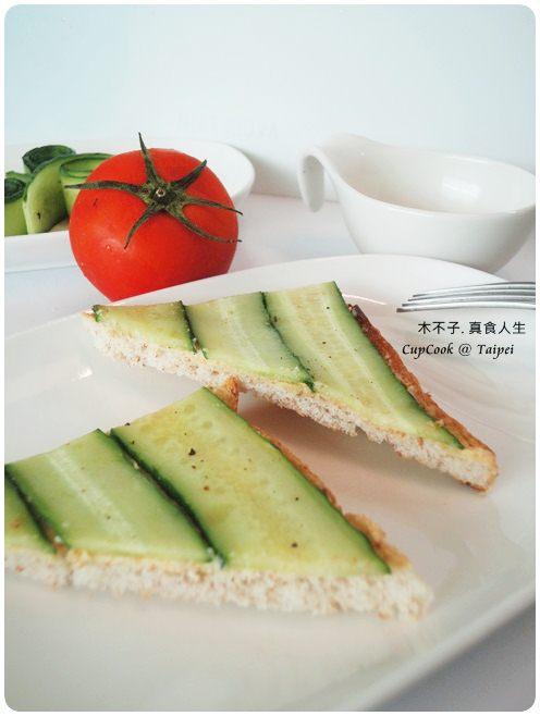 奶油小黃瓜烤吐司 cucumber (5)