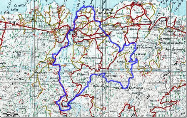 Mapa de Somorto