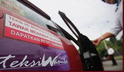 Taksi Unik Khusus Wanita di Malaysia 2