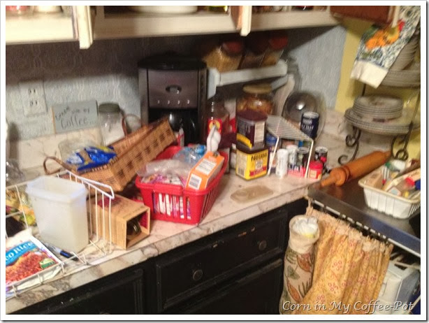 Finding Pantry Space-the clean out