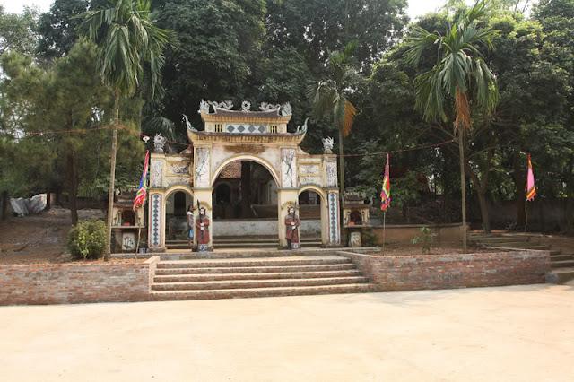 Khu đền thờ Tản Viên Sơn Thánh