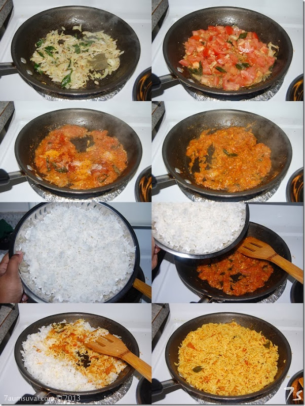 Tomato rice process