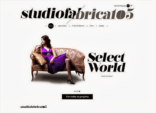 20 hermosos y simples sitios web minimalistas 20