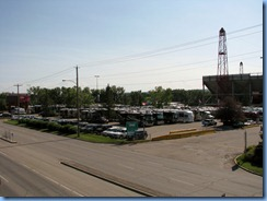 9527 Alberta Calgary - McMahon Stadium - Don's Motorhome Tour group