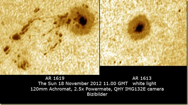 18 November 2012 Spots