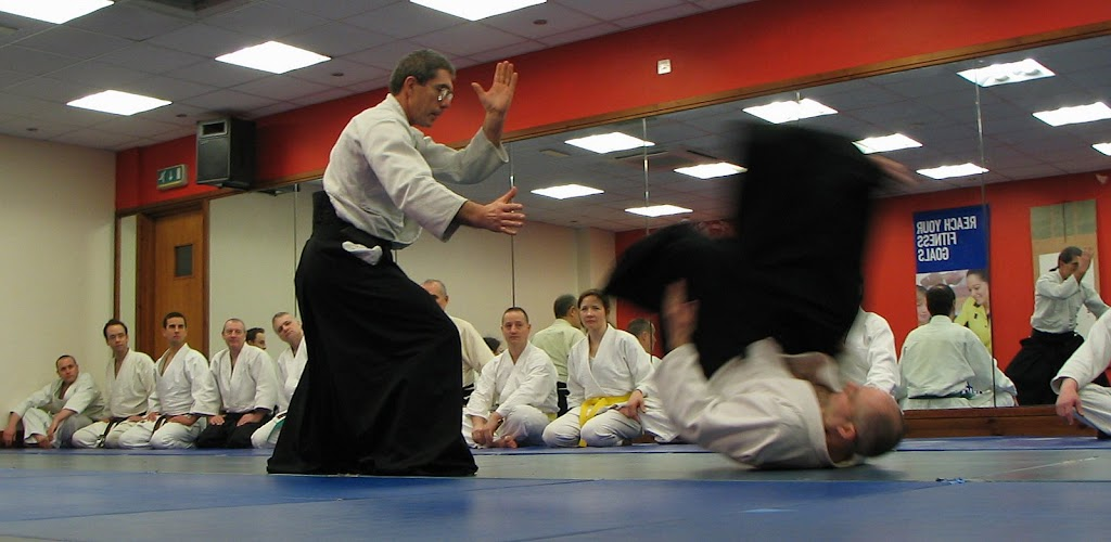 Aikido throw with power