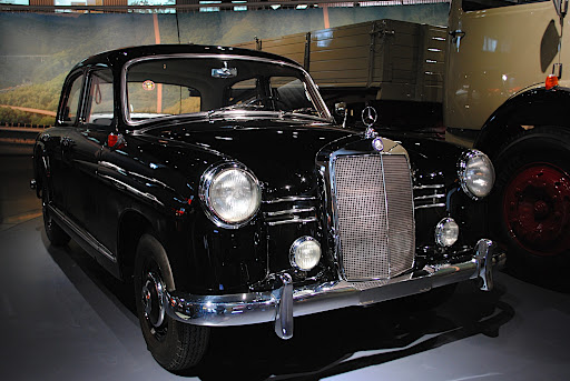 The Mercedes-Benz 180 of 1955
