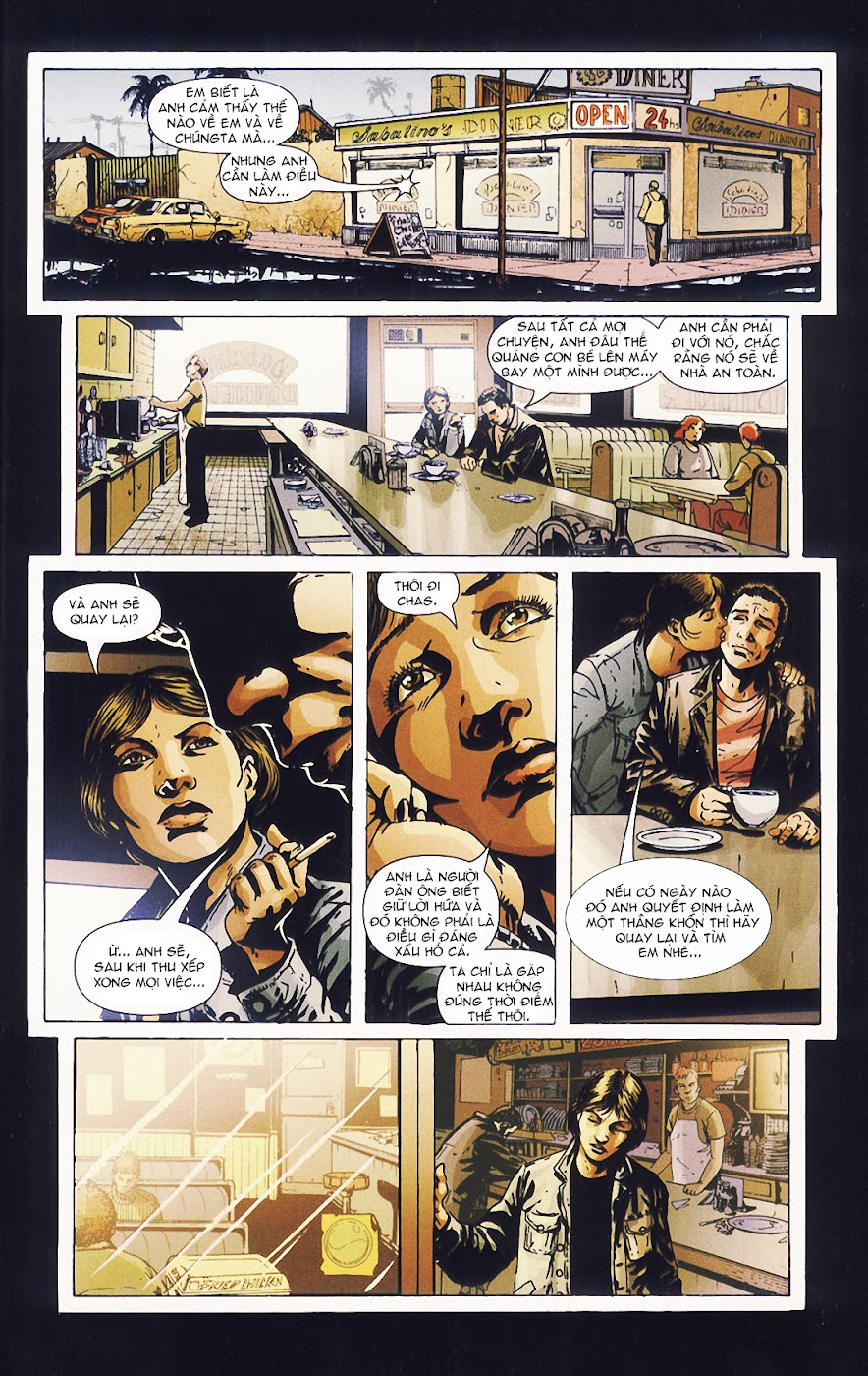 Constantine - All his engines chap 5 - Trang 24