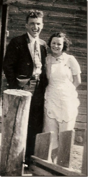 Mom and Dad before marriage cropped