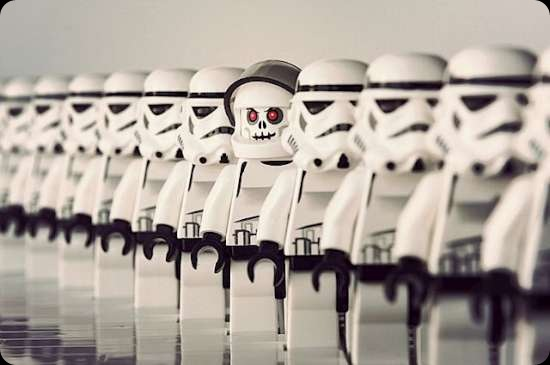 cool star wars photos spooky stormtrooper